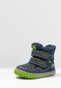 Lurchi - JAUFEN TEX - Winter boots - navy/green - 3