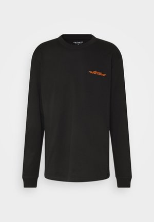 INTERNATIONAL OPERATIONS  - Long sleeved top - black/orange