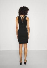 Diesel - BRAIDEN - Jersey dress - black - 2