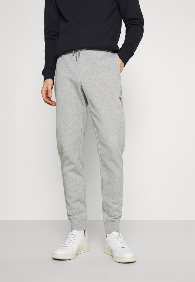 ESSENTIAL - Teplákové kalhoty - medium grey heather