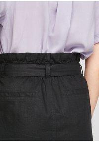 Q/S designed by - A-line skirt - black - 4