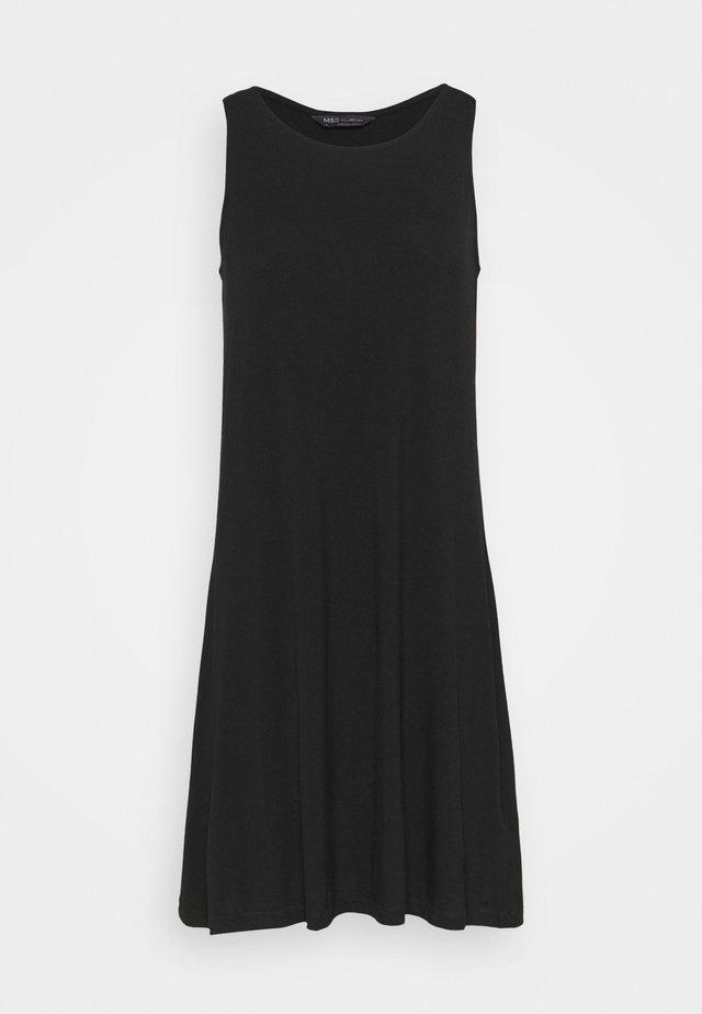 SWING DRESS - Denní šaty - black