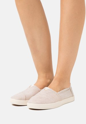 AVALON VEGAN - Slip-ons - rose gold metalic