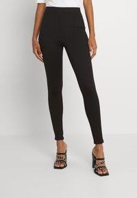 Vila - VIVALASA LEGGINGS - Leggings - Trousers - black - 0