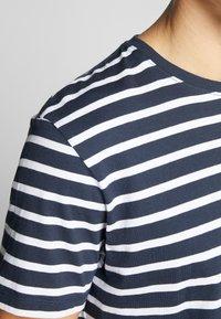 Esprit - Print T-shirt - navy - 4