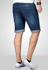 Maurelio Modriano - Denim shorts - dunkelblau - 1