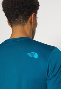 The North Face - MENS REAXION EASY TEE - Print T-shirt - moroccan blue - 3