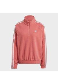 adidas Originals - FLEECE HZ - Fleece jumper - hazy rose - 7