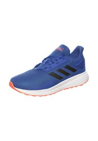 adidas Performance - DURAMO 9  - Neutral running shoes - royal blue/core black/signal coral - 3