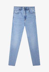 Stradivarius - Jeans slim fit - blue denim - 4