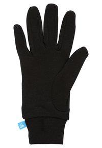 ODLO - WARM  - Rękawiczki pięciopalcowe - black - 2
