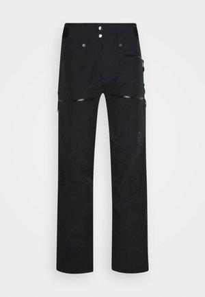 LOFOTEN - Snow pants - black