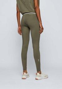 BOSS - ERINA - Leggings - Trousers - dark green - 2