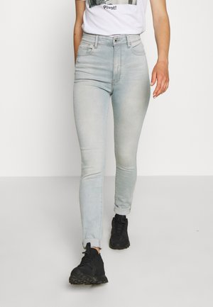KAFEY ULTRA HIGH SKINNY - Jeans Skinny Fit - sun faded cameo blue