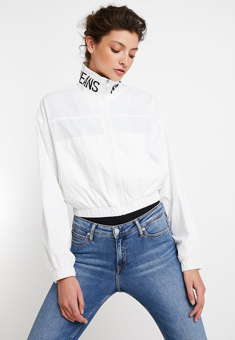 Calvin Klein Jeans - LOGO TAPE  - Winter jacket - bright white