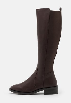PLAIN STRETCH BACK  - Boots - mid brown
