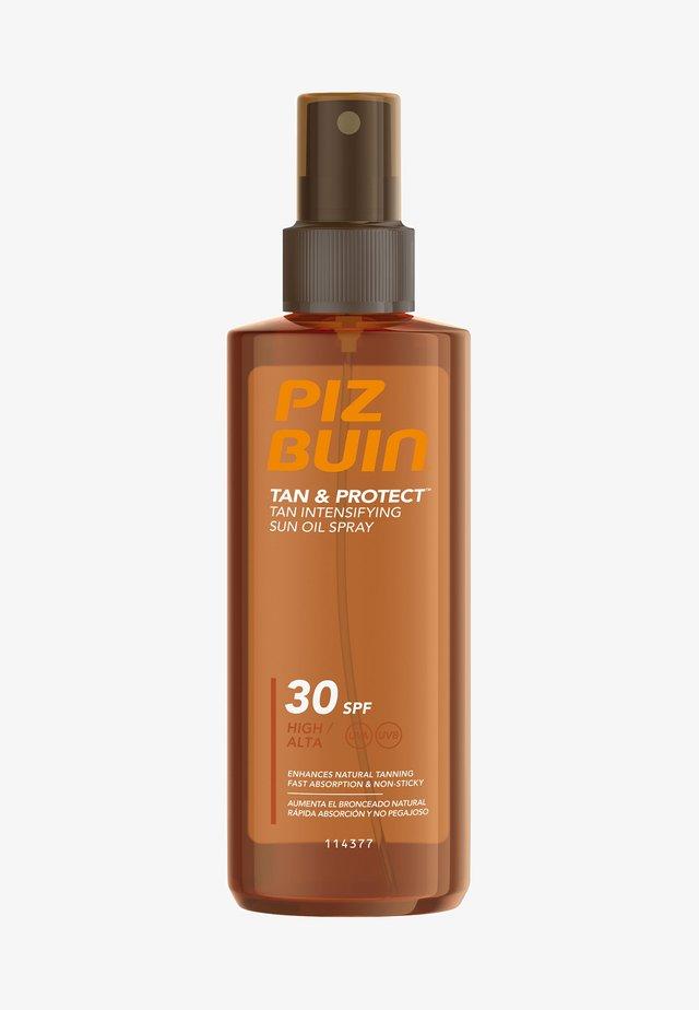 SONNENSCHUTZ TAN & PROTECT TAN INTENSIFYING SUN OIL SPRAY LSF 30 - Sun protection - -