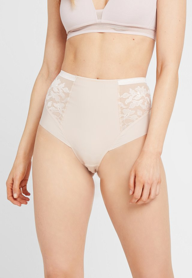 ILLUSION HIGH WAIST BRIEF - Briefs - natural beige