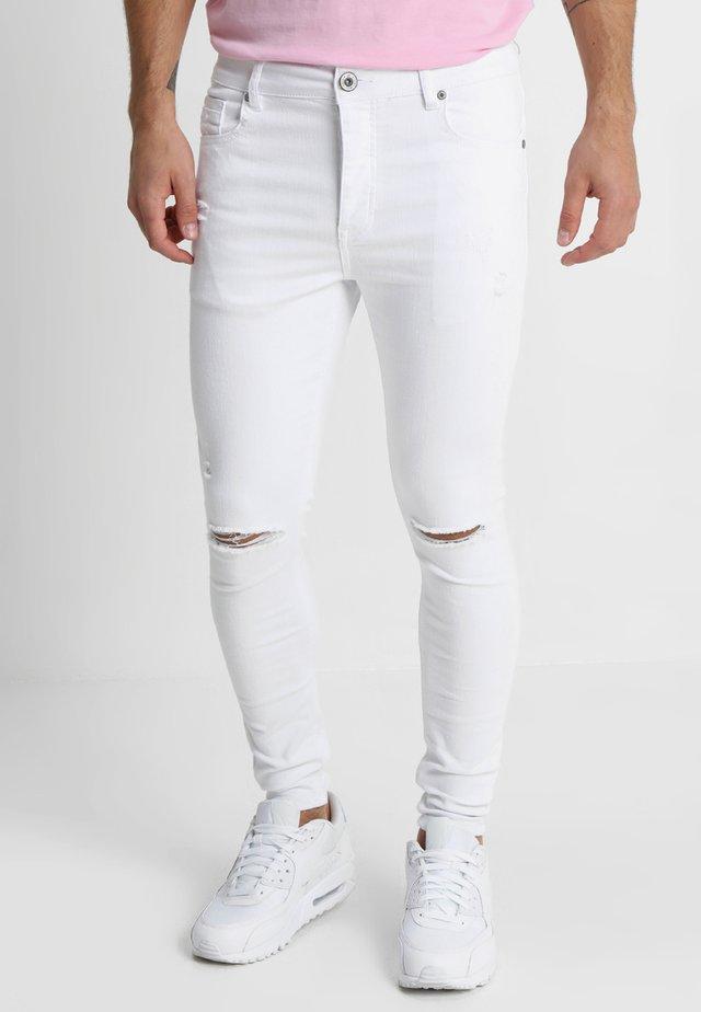 LUMOR - Skinny-Farkut - white
