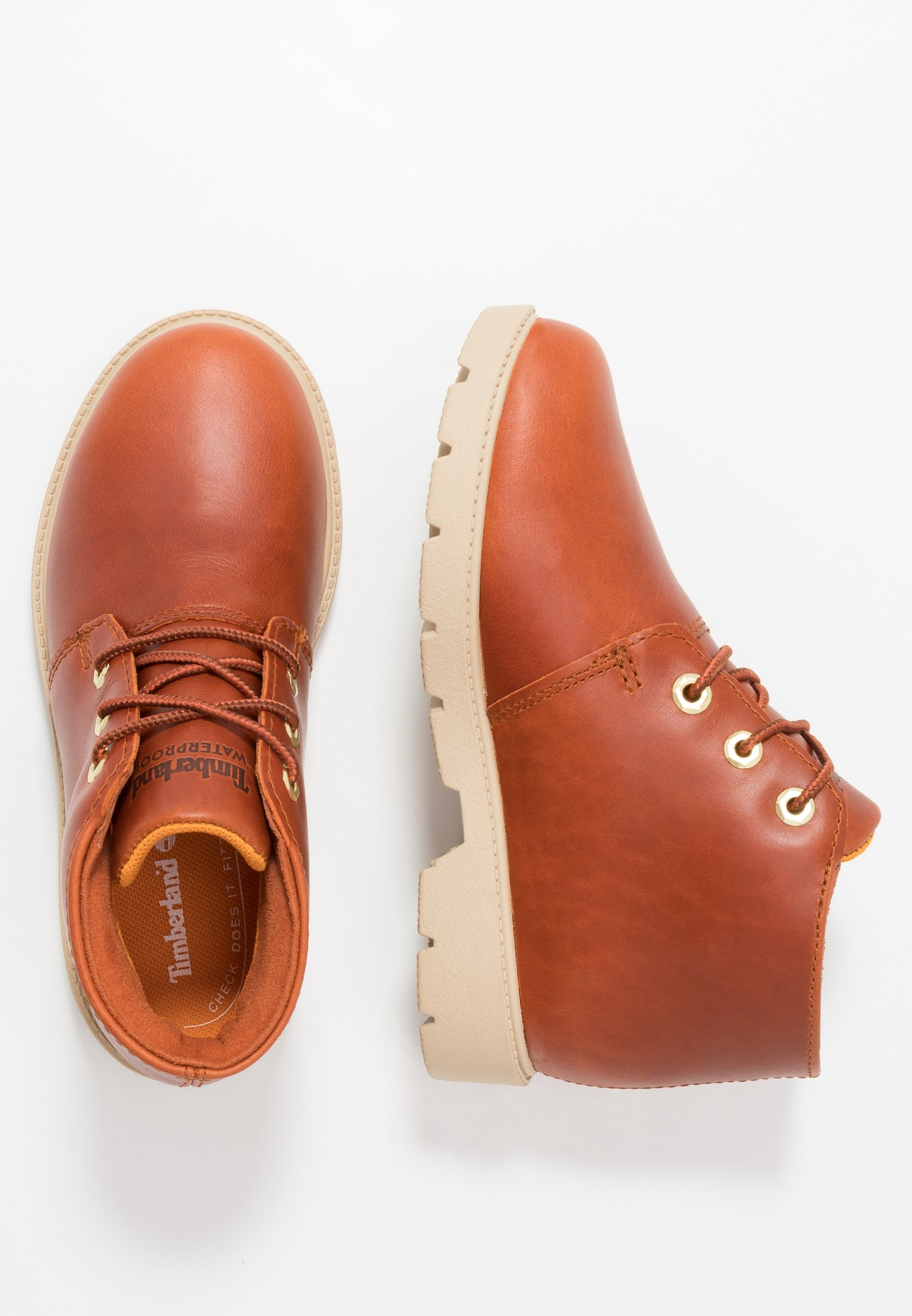 Kids CHUKKA WP - Lace-up ankle boots