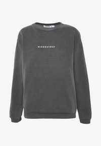Missguided - WASHED - Sweater - black - 3