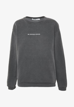 WASHED - Sweatshirt - black