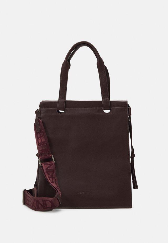 JITOTEM JILL - Shopping bag - merlot