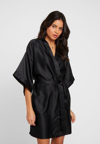 ROBE - Dressing gown - black