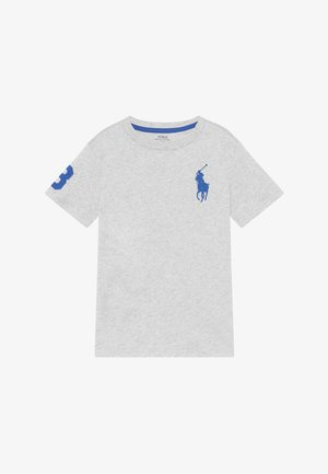 T-shirts print - light smoke heather