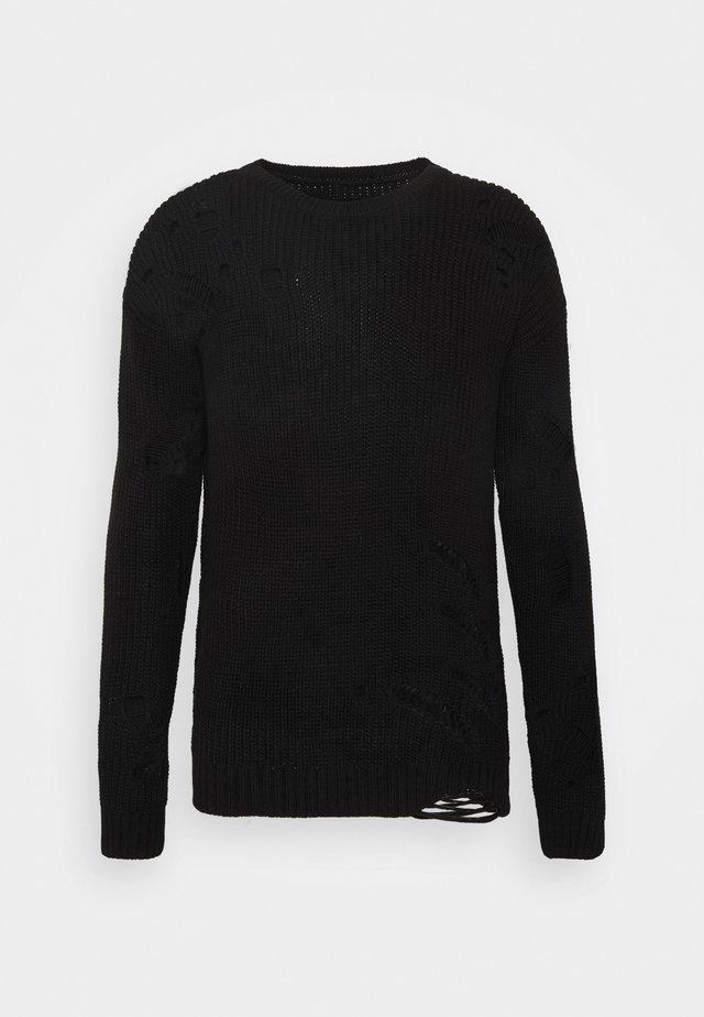 DISTROY  - Sweter - black