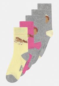 camano - ONILINE CHILDREN HORSE 5 PACK - Socks - sweet lilac - 0