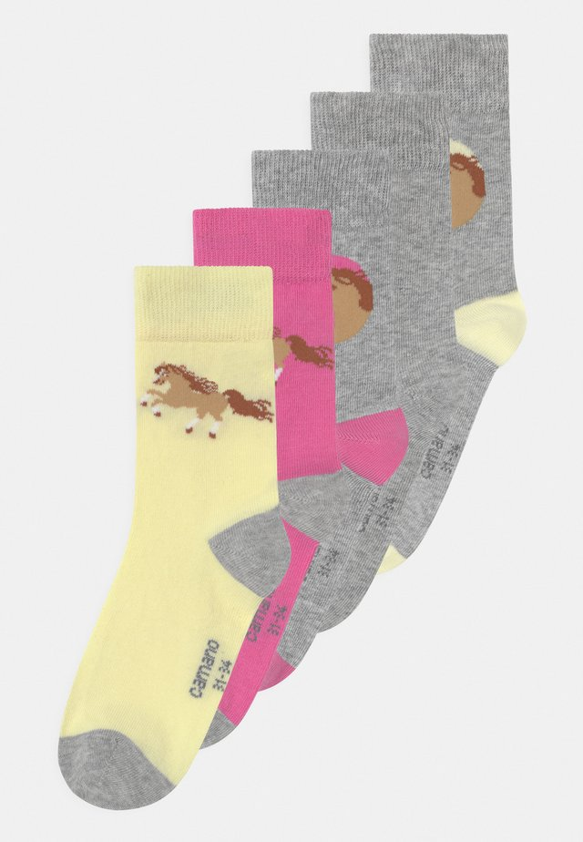 ONILINE CHILDREN HORSE 5 PACK - Socken - sweet lilac