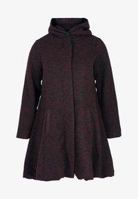Zizzi - MIT WOLLE - Short coat - bordeaux - 0
