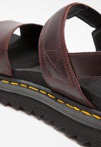 Dr. Martens - VOSS - Platform sandals - charro brando - 2