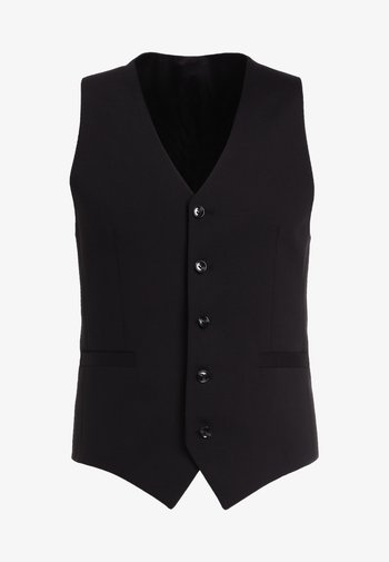 LITT - Gilet de costume - black