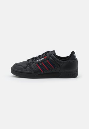 CONTINENTAL 80 STRIPES UNISEX - Baskets basses - core black/collegiate navy/vivd red