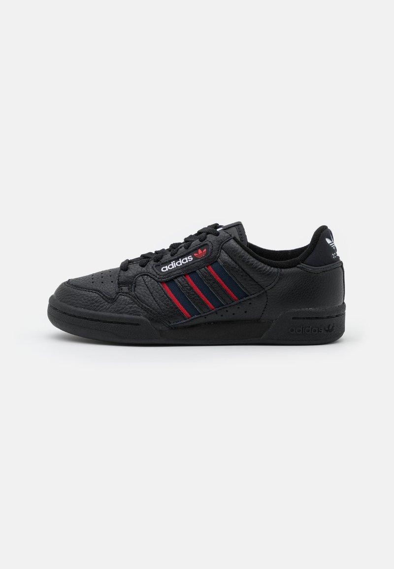 adidas Originals - CONTINENTAL 80 STRIPES UNISEX - Tenisky - core black/collegiate navy/vivd red