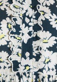 byTiMo - DOBBY MIDI DRESS - Shirt dress - blue - 6