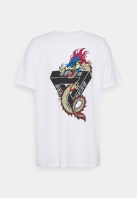 Brave Soul - DRACO - T-shirt con stampa - white - 7
