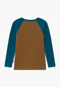 Mainio - UNISEX - Long sleeved top - dull golds/moroccan blue - 1