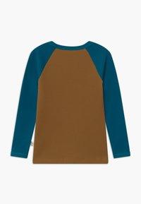 Mainio - UNISEX - Topper langermet - dull golds/moroccan blue - 1
