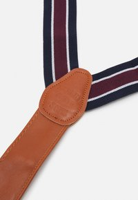 Shelby & Sons - PHILLY BRACES - Pásek - bordeaux/navy - 2