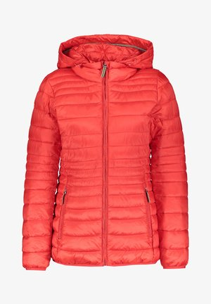 DAMEN MIT KAPUZE - Winter jacket - rot (74)