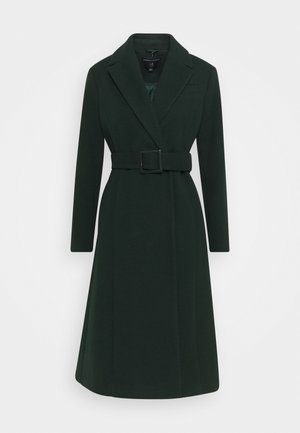 BELTED WRAP COAT - Cappotto classico - emerald green
