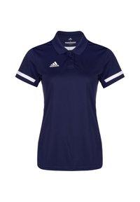 adidas Performance - TEAM 19 POLOSHIRT DAMEN - Sports shirt - navy blue / white - 0