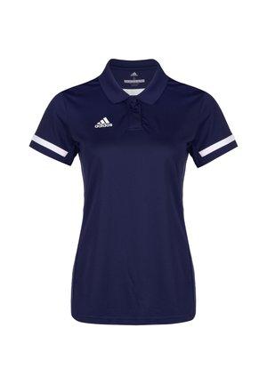 TEAM 19 POLOSHIRT DAMEN - T-shirt de sport - navy blue / white