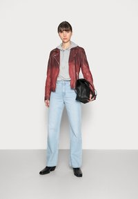 Gipsy - KANDY LAMOV - Leather jacket - ox red - 1