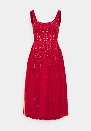 SNOWFLAKE PROM EXCLUSIVE - Juhlamekko - deep red