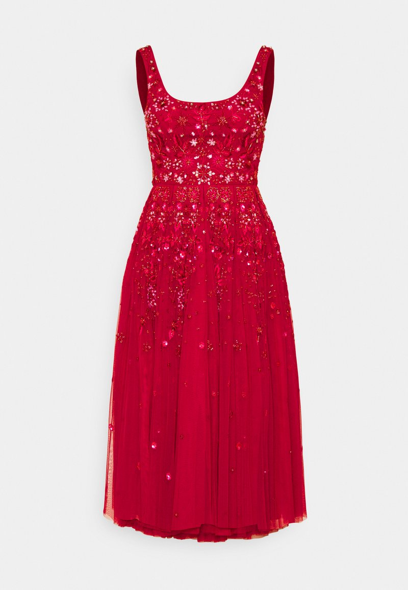 Needle & Thread - SNOWFLAKE PROM EXCLUSIVE - Cocktail dress / Party dress - deep red