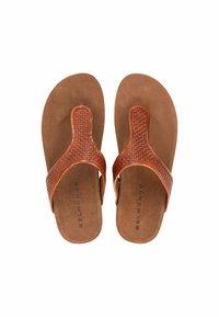 Belmondo - T-bar sandals - mittelbraun - 2